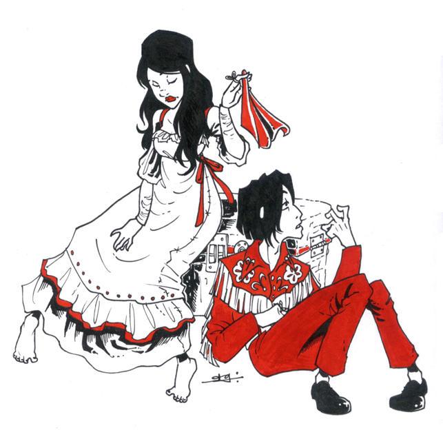 The White Stripes by amandagrazini