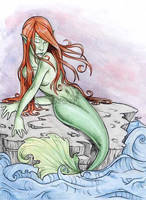 Mermaid by amandagrazini