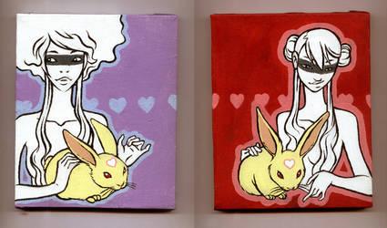 my buddy bunny by amandagrazini