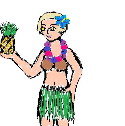Pineapple Elizabeth by kajigoddess