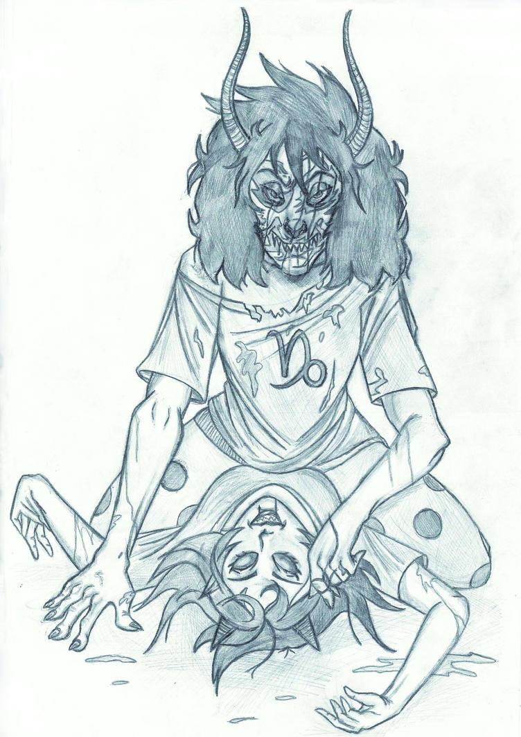 Death of Terezi by Svetlana543