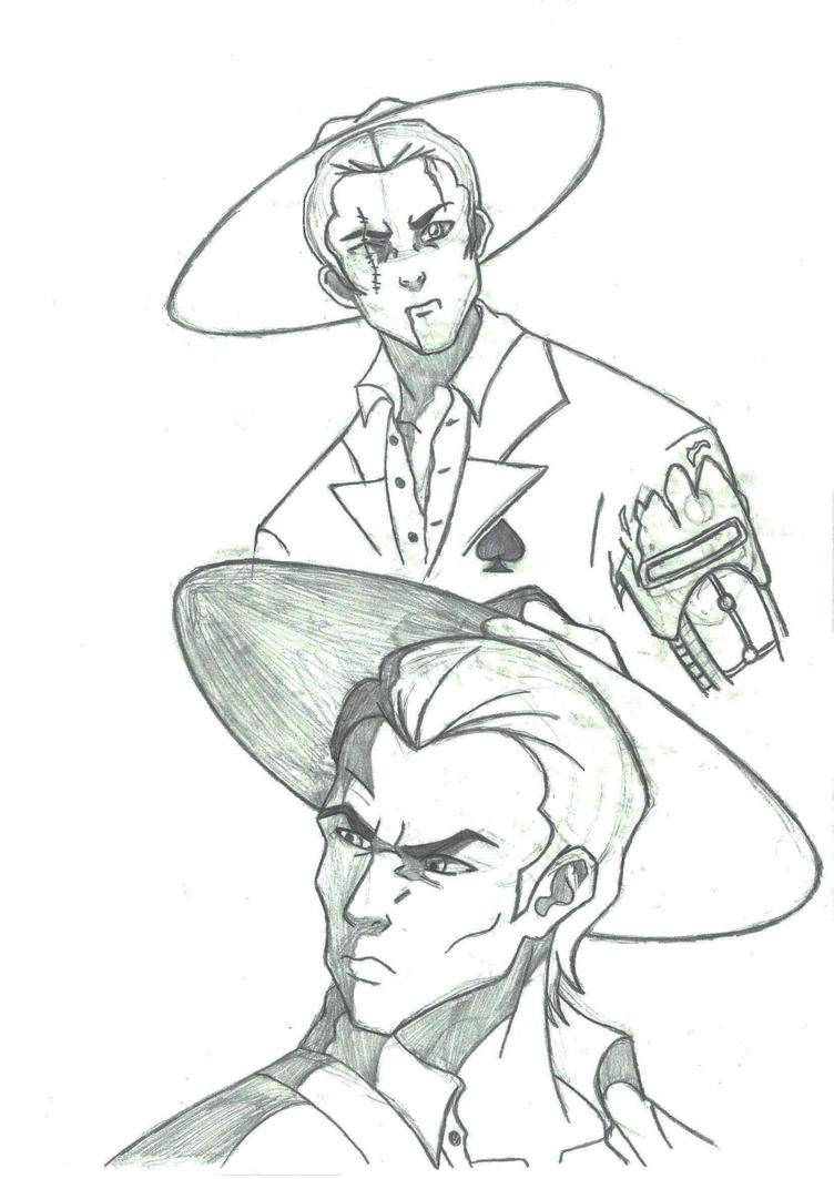 Spades Slick sketch 3 by Svetlana543