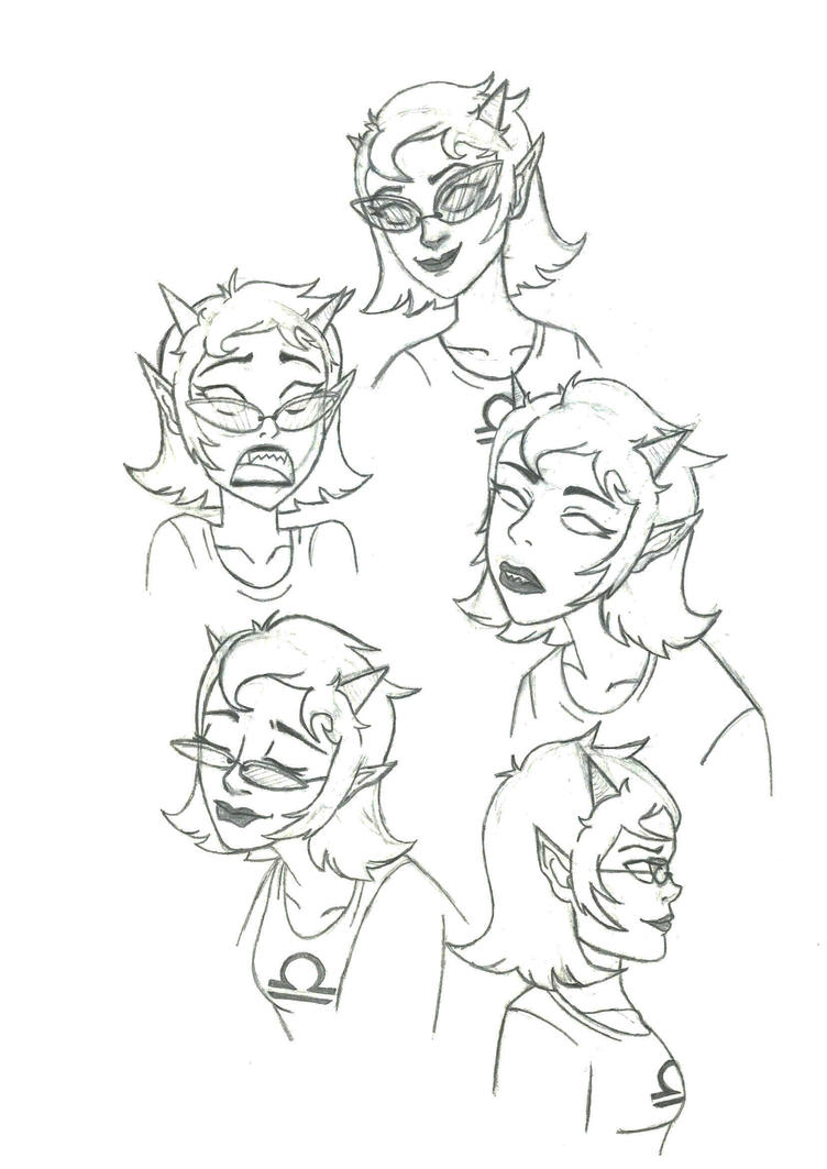 Terezi sketch by Svetlana543