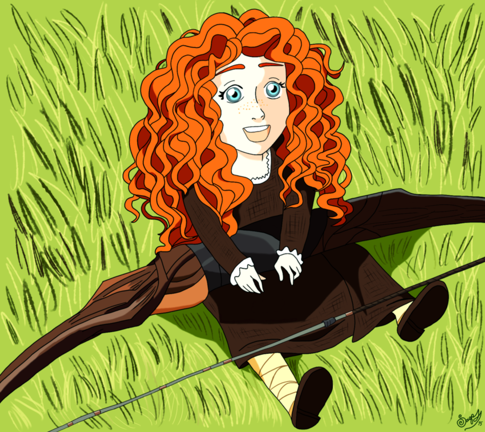 Baby Merida by Svetlana543