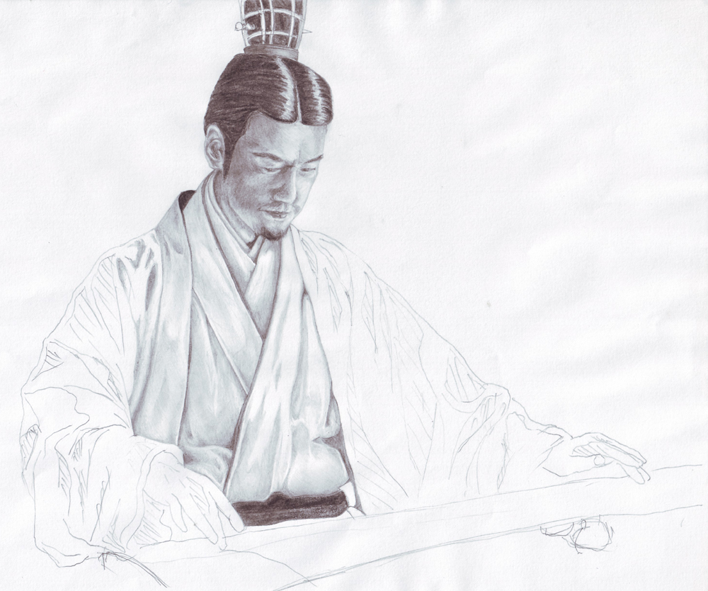 Zhuge Liang WIP by Sir...