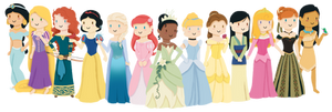 Disney Princesses v2.0