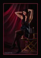 Black Stockings, Red Curtain 2 by EdgarPoe190