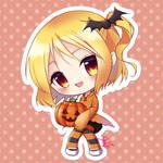 Chibi Pumpkin Girl