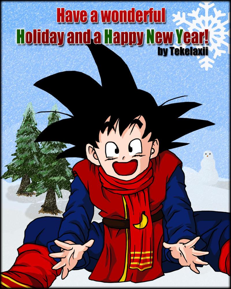 Happy Holidays feat. Goten by tekelaxii