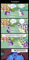 Assimilation (Comic by PonySalute) [Page 1]
