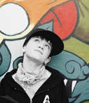 george sampson graffiti wall.
