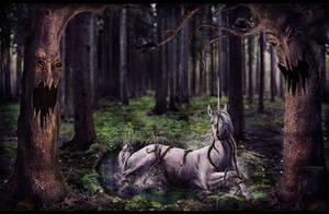 The Last Unicorn by ConvulsionDesigns