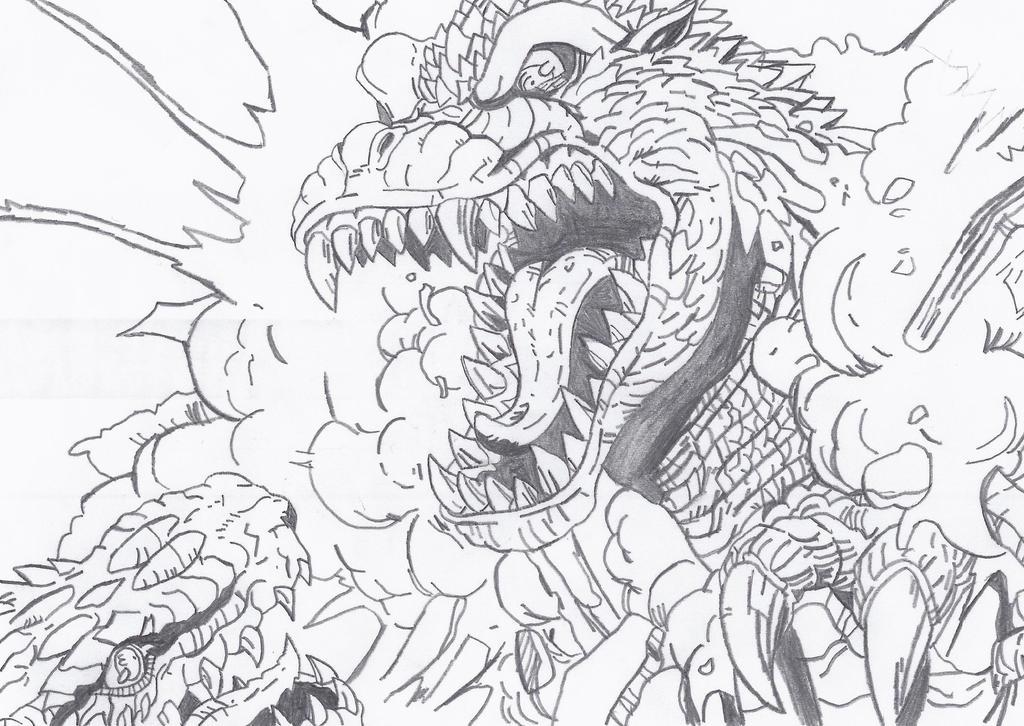 Happy 60th Anniversary, Godzilla!! 1954-2014! by Kaizer617
