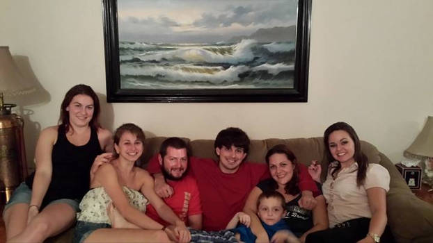 Me and my siblings, plus Shelby