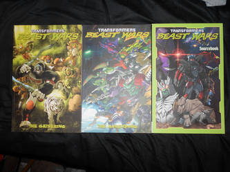 My IDW Beast Wars Graphic Novel Collection