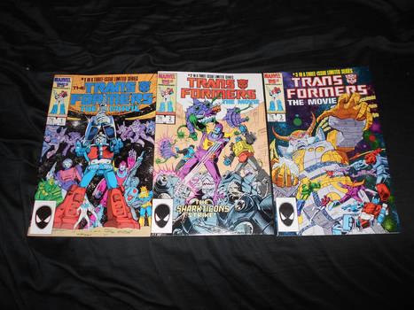 The Transformers - The Movie - Marvel UK Comics!!