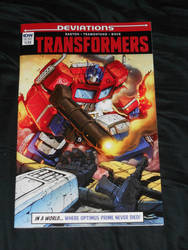 The Transformers - IDW Deviations One-Shot!!