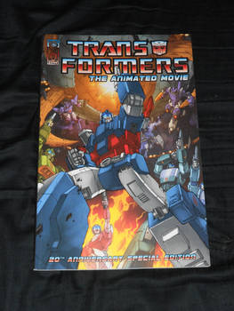 IDW's Transformers: The Animated Movie Tradeback
