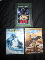 Three of my Favorite Godzilla Flicks!!