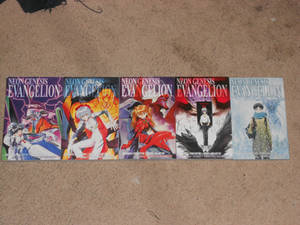NGE Manga Omnibus Collection FINALLY Complete!!