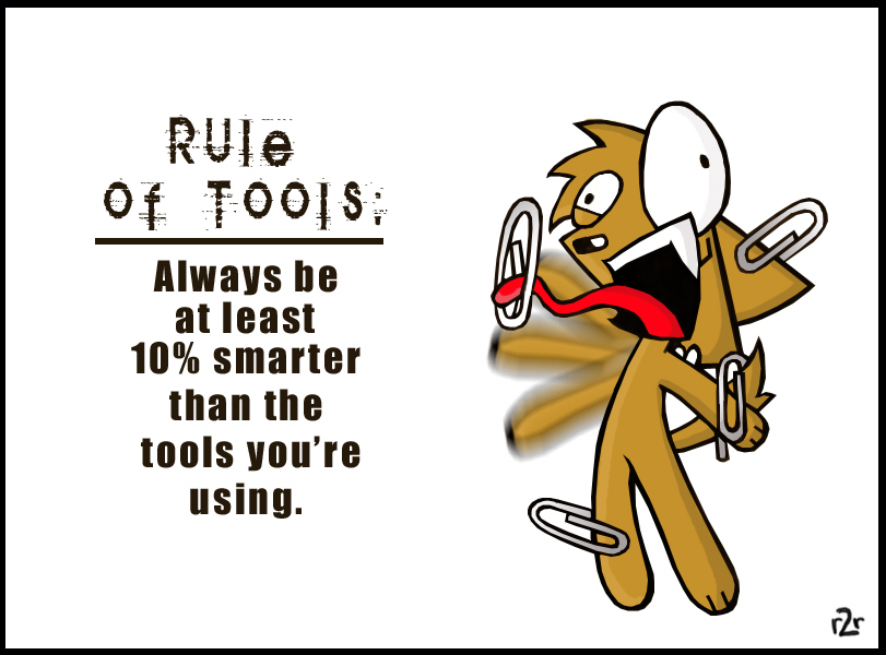 Rule of Tools by reD2rumble