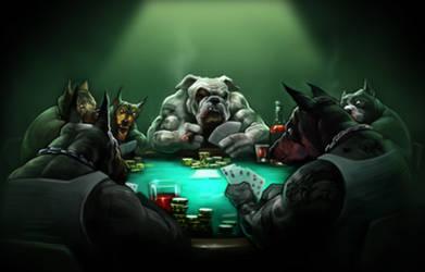 poker dogz by nightrhino