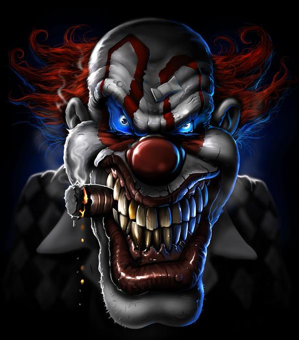 Evil Clown By Nightrhino On DeviantArt