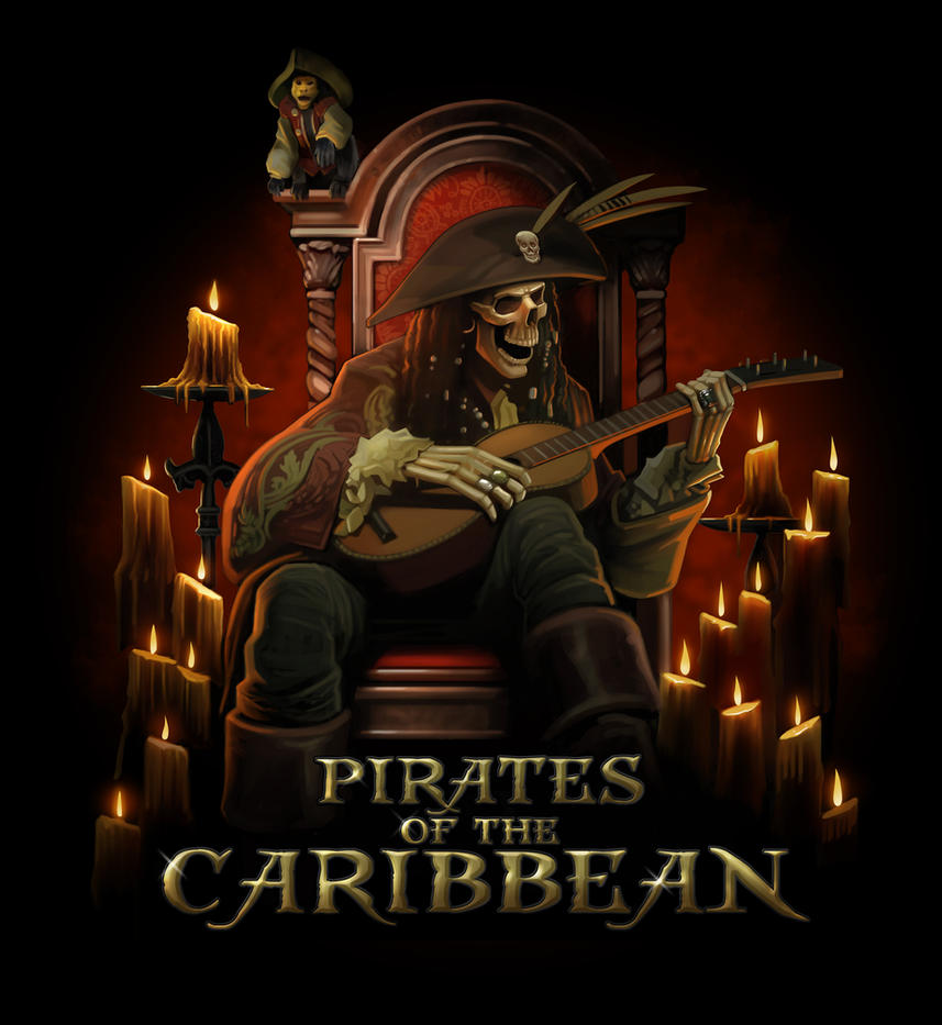 pirates of the caribbean by nightrhino