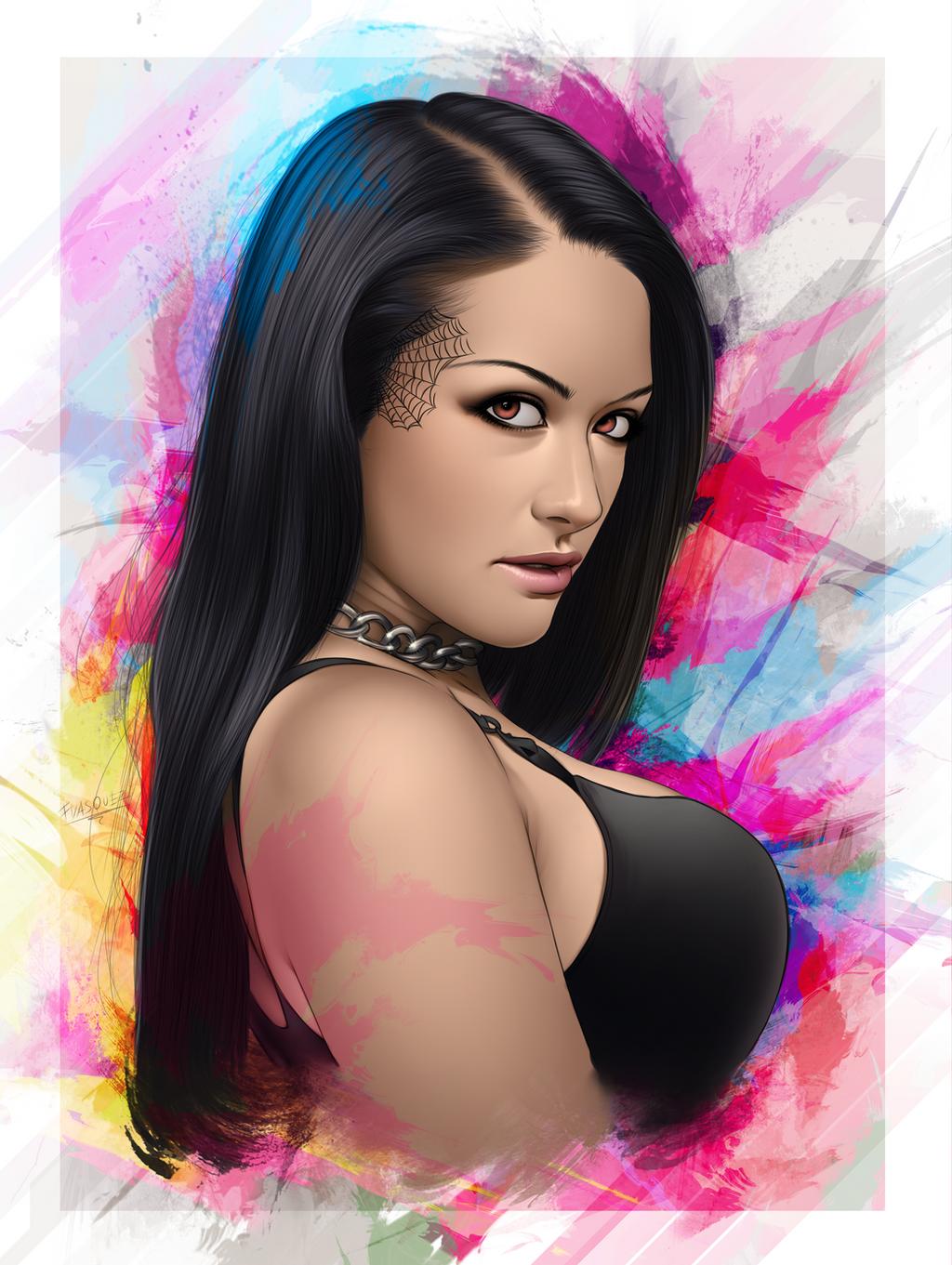 Katrina Jade Portrait by ElFabulosoVasquez