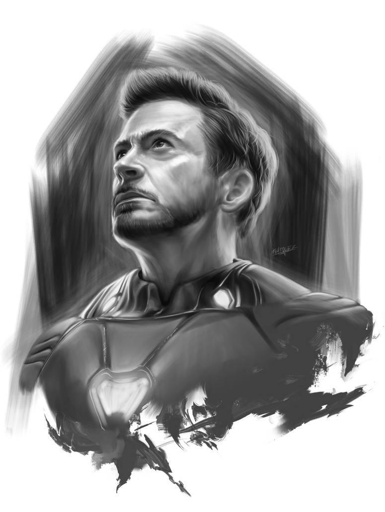 Tony Stark - Iron Man by ElFabulosoVasquez