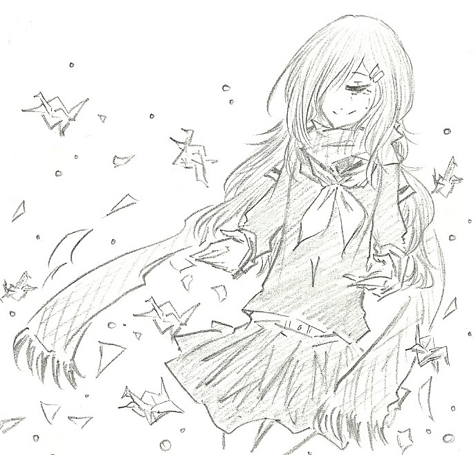 Ayano :: Smile until the end by FermonsNosYeux