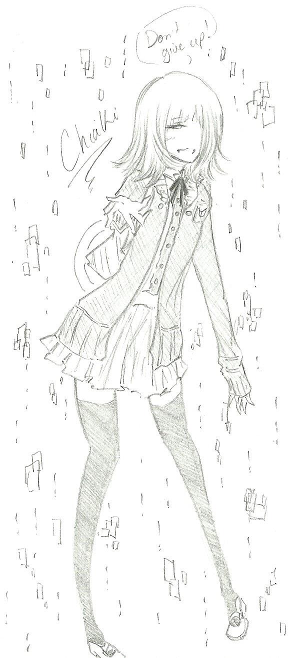 Chiaki :: Cheering by FermonsNosYeux