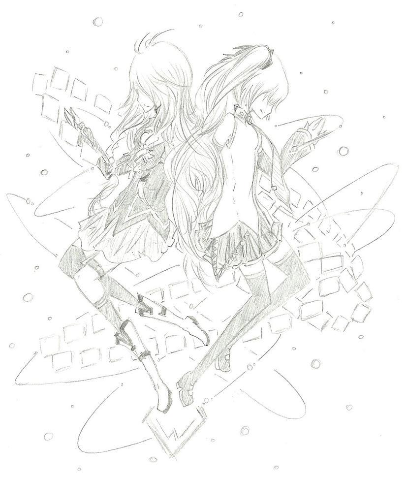 IAMiku :: Grace the World by FermonsNosYeux