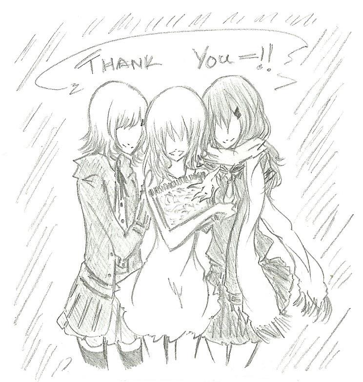 ChiakiNamiAyano :: Best Wishes!! by FermonsNosYeux