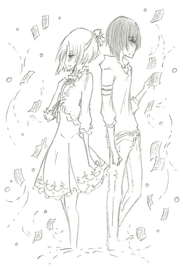 KaoriJosh :: Waiting by FermonsNosYeux
