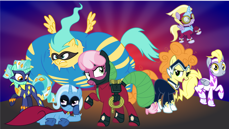 lunaverse power ponies by punzil504 on deviantart