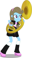 Beauty Brass, EQG style by punzil504