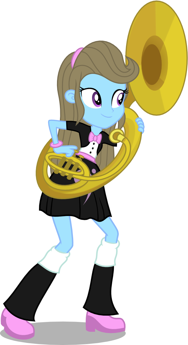 Beauty Brass, EQG style by punzil504