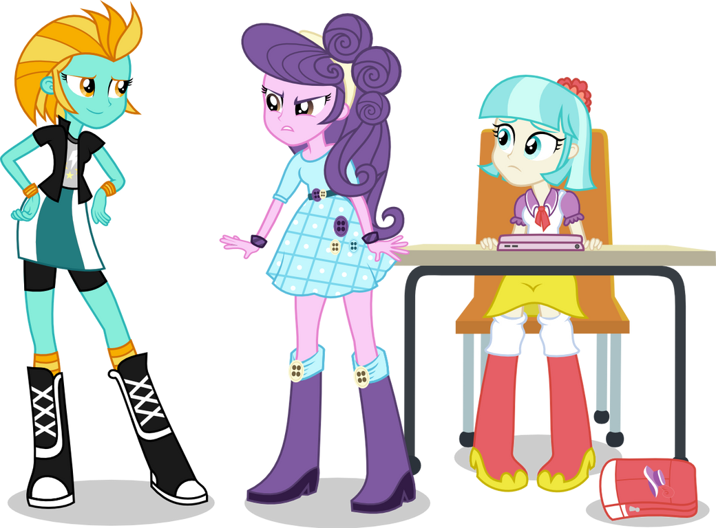 EQG LD, Suri, and Coco by punzil504
