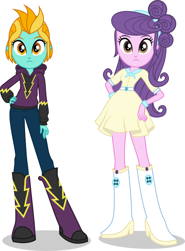 Lightning Dust and Suri by punzil504