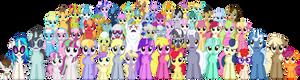 Twilight's Kingdom - Ponyville Residents