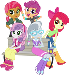 CMC, Babs Seed, and Silver Spoon