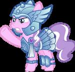 Diamond Tiara, Warrior Princess by punzil504
