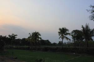 evening scenery by andhikazanuar