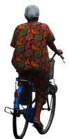 riding a bicycle png stock