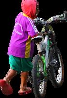 Push the bike PNG by andhikazanuar