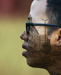 Double Exposure Face by andhikazanuar