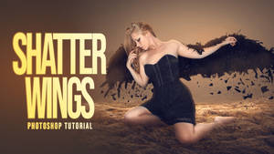 Create Shattered Wings Effect in Photoshop