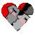 HidexRatchet Heart by miraibaby