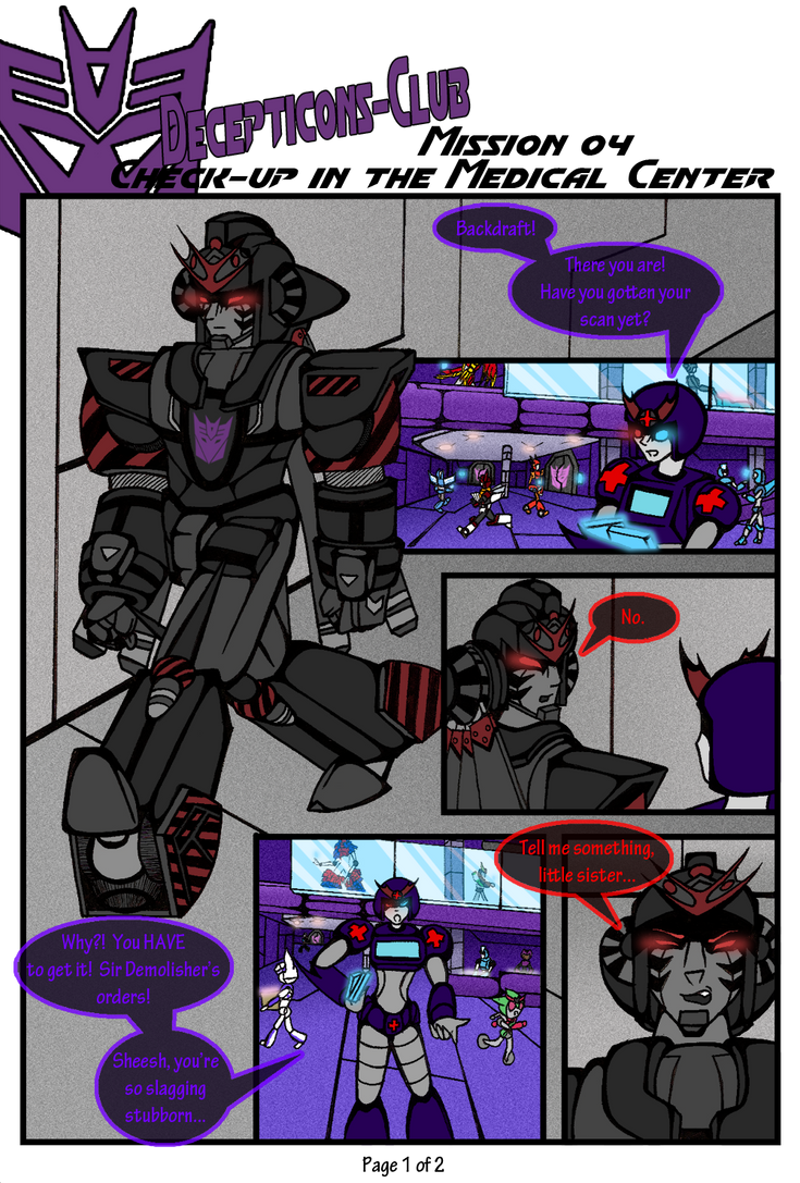 Mission 04 - Page 1 by miraibaby